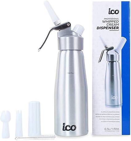 Impeccable Culinary Objects Ico Ico001 Sifone Da Cucina Per Spume Alluminio Argento Amazon It Casa E Cucina