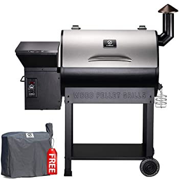 Z-Grill ZPG-7002E 2020 Upgrade Wood Grill Offset Smoker