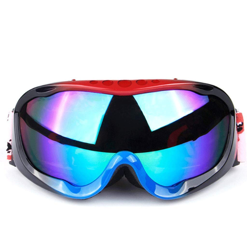 6 Double AntiFog Ski Goggles Outdoor Mountaineering Skating Sandproof Windproof Goggles