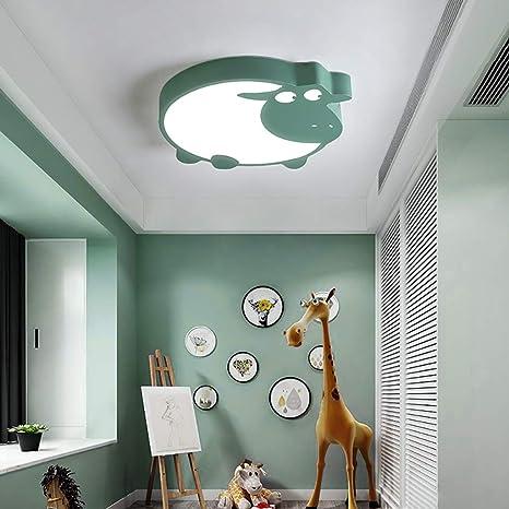 ☝XDD Lámpara de Techo para el Dormitorio de los niños ...