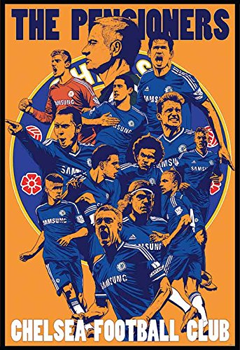 CHELSEA F.C. 2015 Football Soccer Wall Decoration Poster (#004)