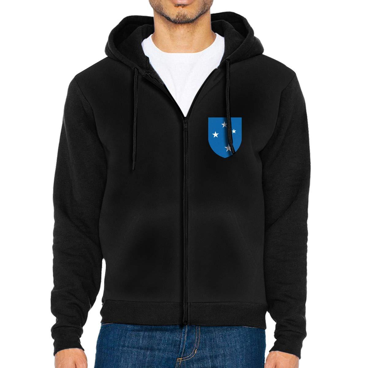 23rd Infantry Division Mens Full-Zip Up Hoodie Jacket Pullover Sweatshirt