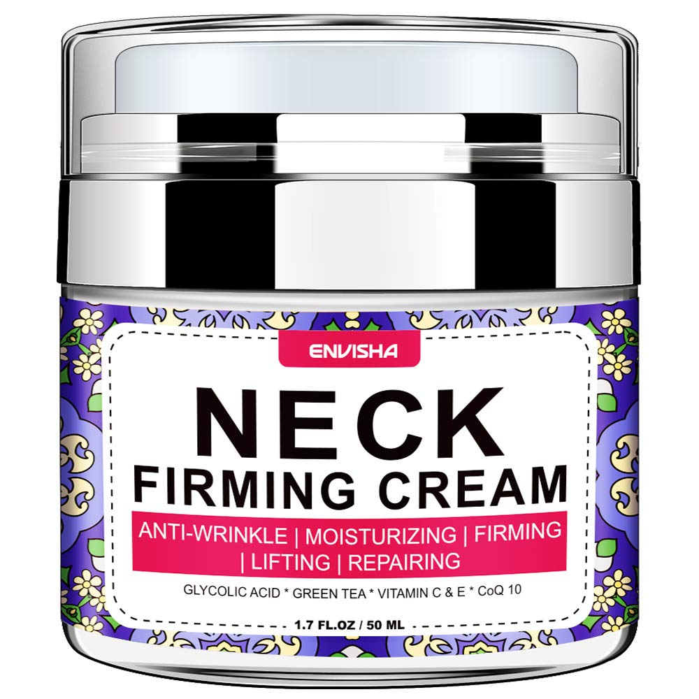 Wumal Neck Firming Cream, Anti Aging Moisturizer for Neck & Décolleté, Helps Lifting Sagging Skin, Reducing Wrinkles, Repair Crepe Skin, Double Chin Reducer, Skin Tightening Cream: Beauty