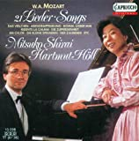 Mozart, W.A.: Lieder - K. 307, 308, 349, 351, 390, 391, 468, 472, 473, 476, 518, 519, 520, 523, 531, 524, 530, 596, 597