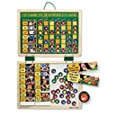 Melissa & Doug Deluxe Wooden Magnetic Responsibility Chart With 90 Magnets