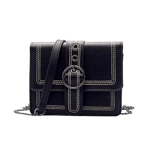 f5058dc068 Women's Crossbody, Clearance!AgrinTo Fashion Thread Flap Bag Hasp ...
