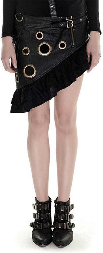 verano gš®tico vapor Punk Flounce falda Kilt falda corta falda ...