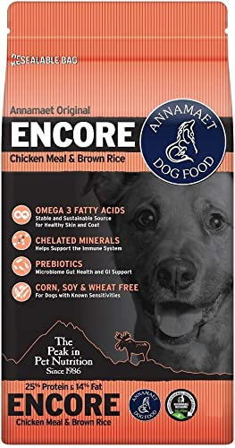 Annamaet 25 Protein 14 Fat Encore Formula Dry Dog Food