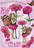 Crafter's Companion Flower Fairies Friends Unmounted Cling Rubber Stamps: Zinnia