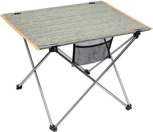 DX Mesa Plegable Paño Ultraligero Portátil para Acampar En La ...