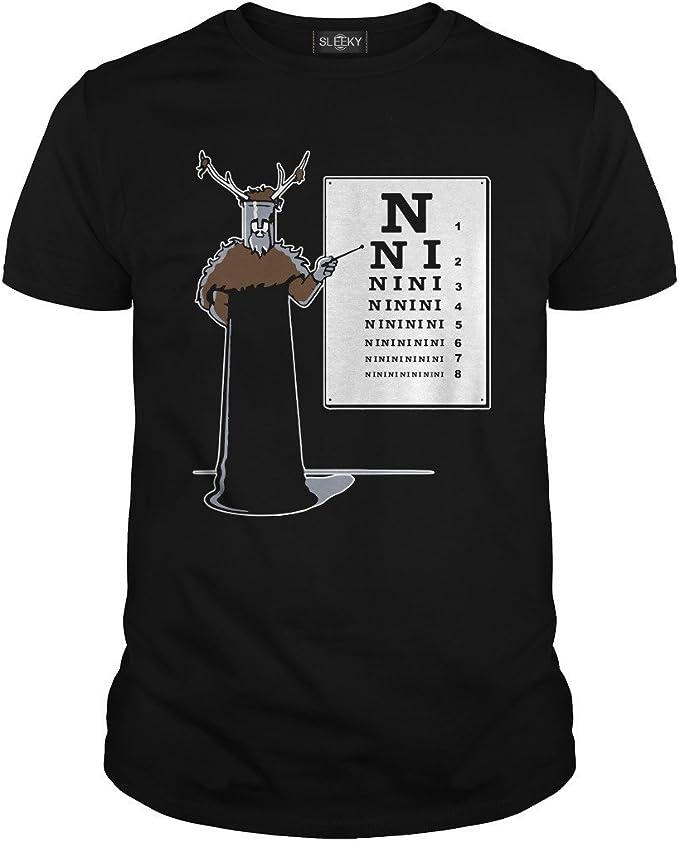 Monty Python tshirt knights who say Ni the holy grail Ni Ni Ni