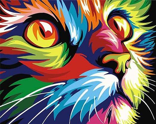 Wwdfdd Peinture Par Numéro Kit Pour Enfants Adultes Visage