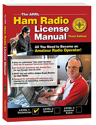 The ARRL Ham Radio License Manual cover