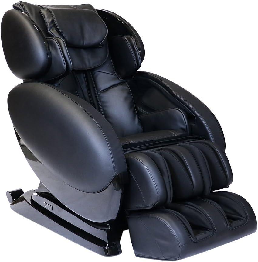 Infinity IT-8500 X3 - Full Body Zero Gravity 3D Massage Chair - Featuring Air Compression, Decompression Stretch, Lumbar Heat, and Shiatsu Technique- Black