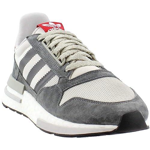edfc57dbdb adidas Men's ZX 500 RM Grey Four/FTWR White/Scarlet B42204