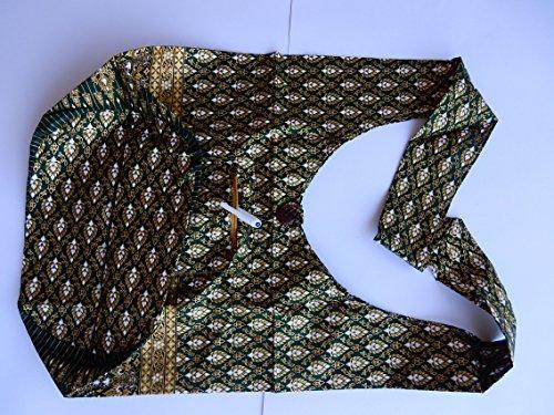 Ariyas Thaishop, Borsa a spalla donna Verde verde