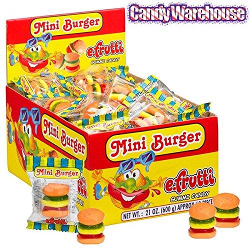 (Gummy Mini Burgers Candy 60 Piece)