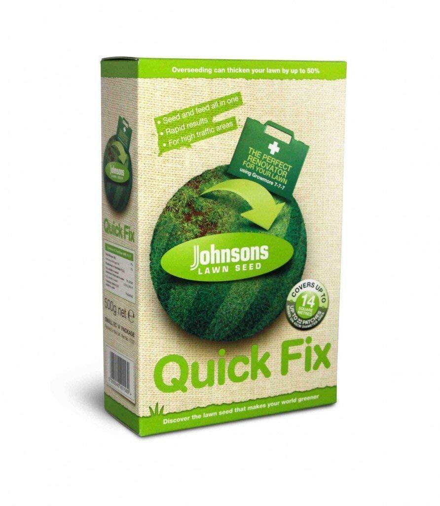 Decco Johnsons 611103 500g Quick Fix Lawn Seed Decco Ltd