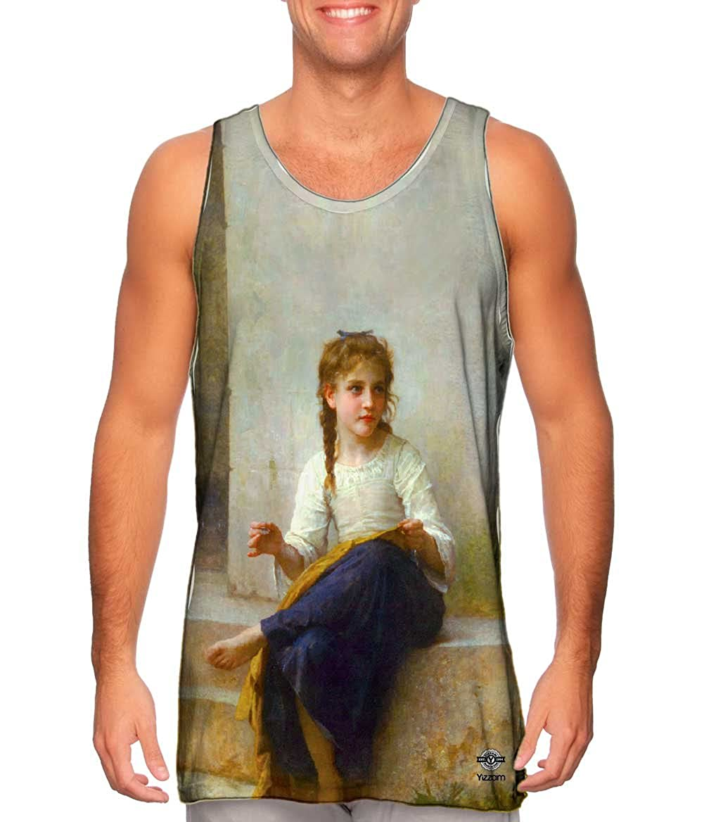 Sewing Yizzam- William-Adolphe Bouguereau -Tshirt- Mens Tank Top 1898