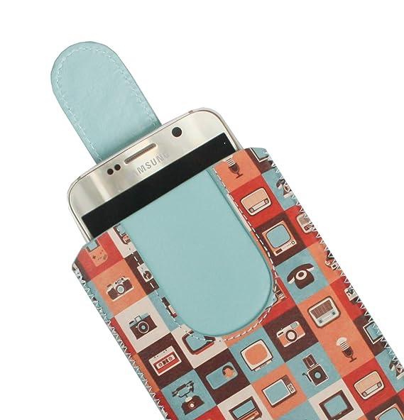Emartbuy Gadgets Cuero Premium PU Deslizar en Funda Case ...