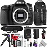 Photo : Canon EOS 80D DSLR Camera Body w/ Advanced Photo and Travel Bundle