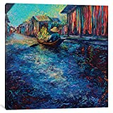 iCanvasART My Thai Floating Market Gallery Wrapped Canvas Art Print by Iris Scott, 37'' x 0.75'' x 37''