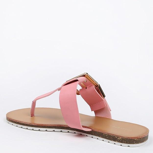 Ideal scarpe nu-pieds con cinturone Veronica, Giallo (giallo), 38