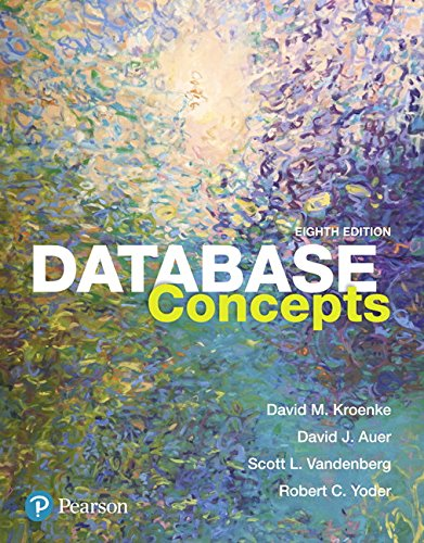 013460153X - Database Concepts (8th Edition)