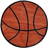 LA Rug Basketball Rug 39″ RD Review