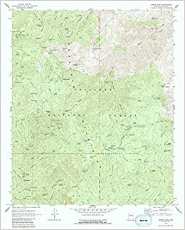 Map Of Crown King Arizona.Crown King Arizona U S Geological Survey 9780607064797 Amazon