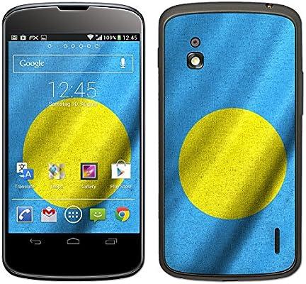 atFoliX Design Foils Banderas del mundo para Google Nexus 4 (LG ...