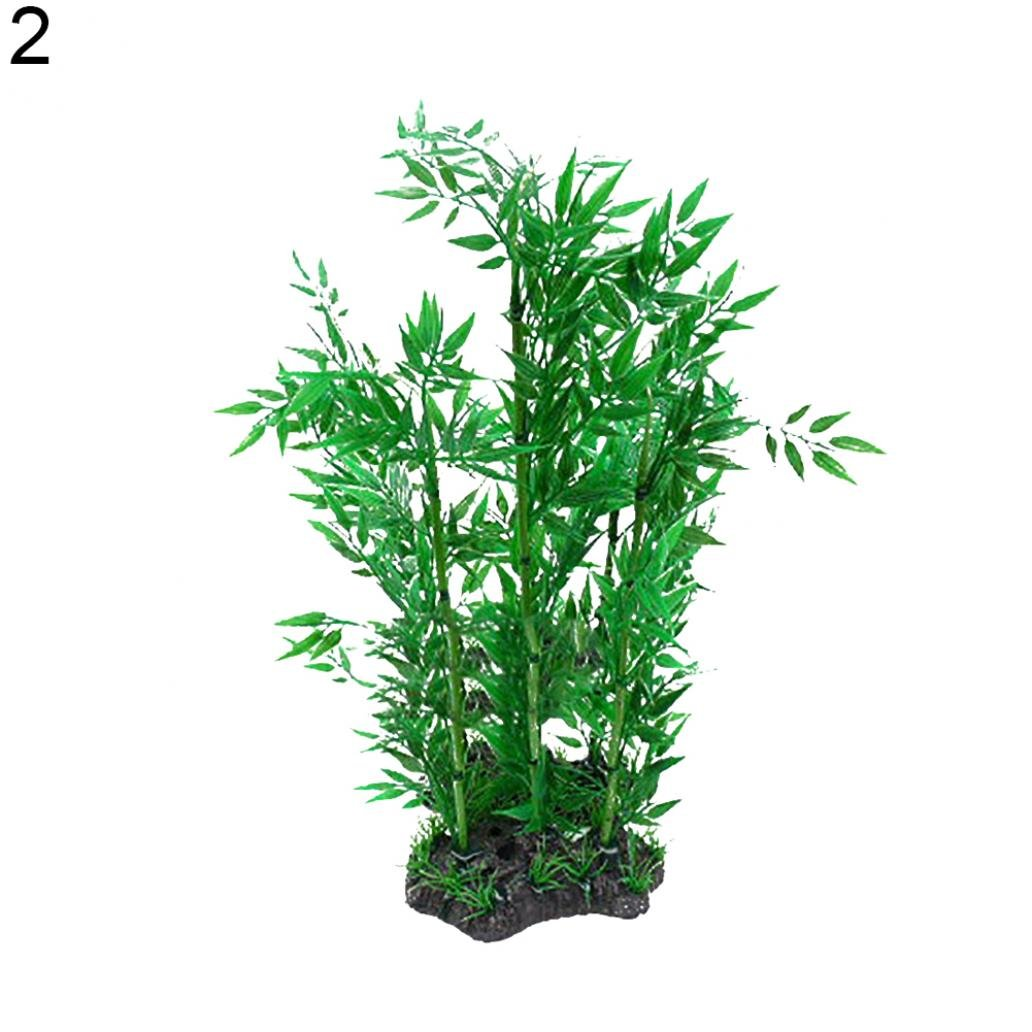 Amazon.com : Aquarium Fish Tank Artificial Bamboo Kelp Water Grass Aquatic Plant Landscape : Pet Supplies