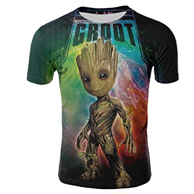 New Fashion Women//Men/'s 3D Print  Guardians of the Galaxy T-Shirt