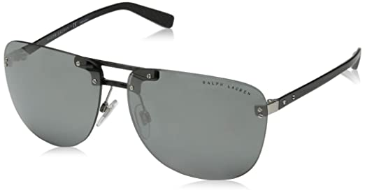5c1ada5a9 Ralph Lauren Sunglasses For Men, Grey RL7062 57066G 63 63 mm: Amazon.ae