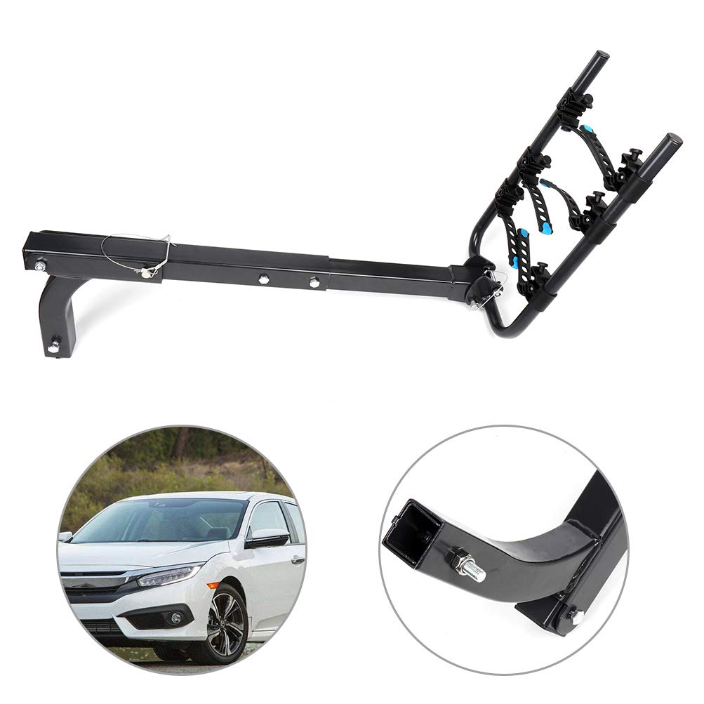 SCITOO Cars SUV Minivans 3 Bike Hitch Rack Bike Carrier for 2 In Hitch Mount Heavy Duty