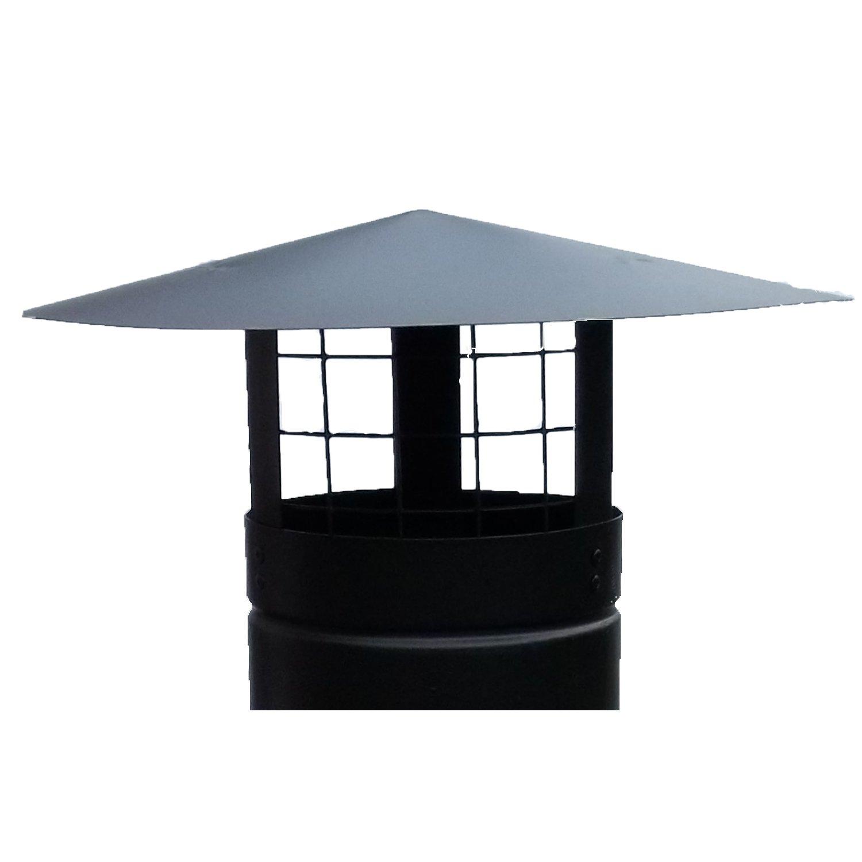 chimney cap rain cap chimney cowl with bird guard to fit 5 u0027 u0027 125mm