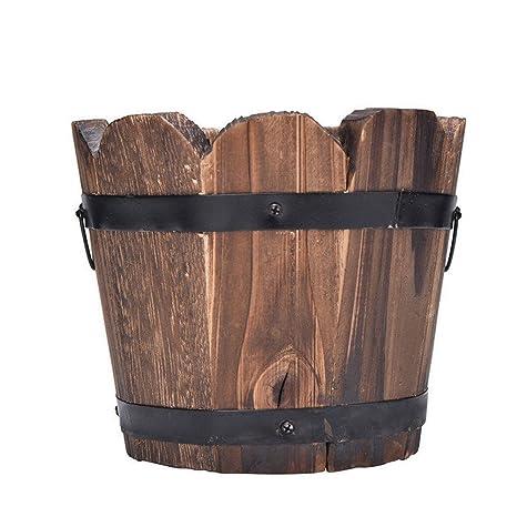 vasi in legno per piante