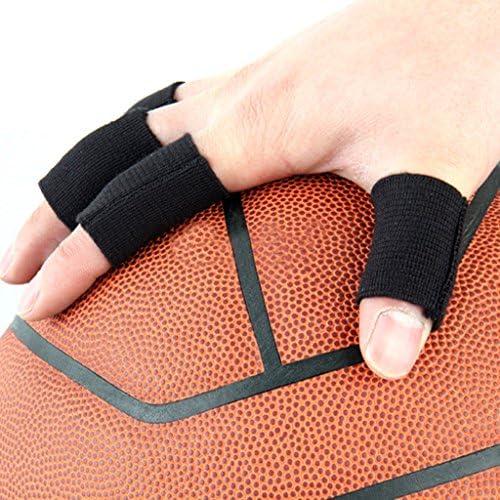 Bleu//Noir MagiDeal Set de 20pcs Prot/ège-Doigts Protecteur Doigts Basket-Ball Sports Volleyball Baseball Badminton Tennis