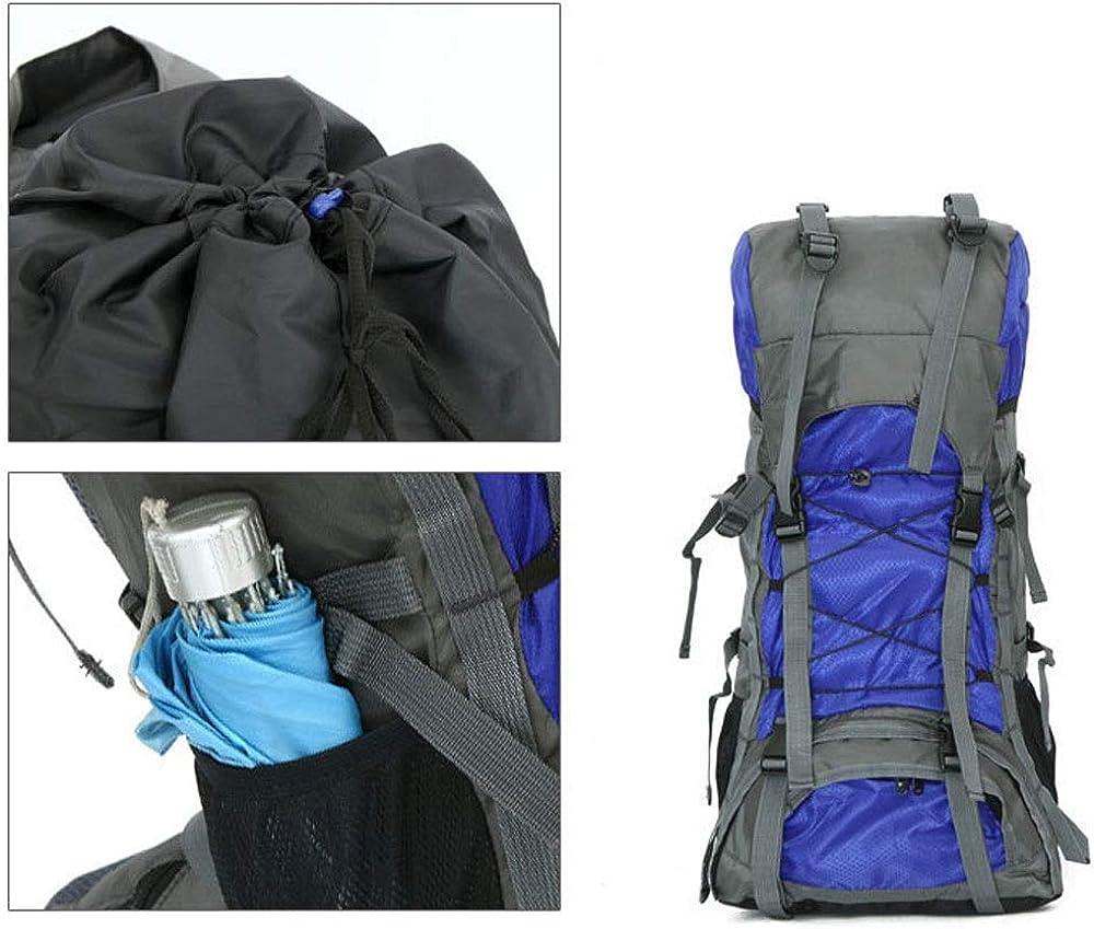 Waterproof Multipurpose Large Trekking Rucksack Ftf-sjb Laptop Backpack 60L Professional Hiking Backpack Multifunction Outdoor Mountaineering Rucksack for Men Women Outdoor Sport Camping Climbing