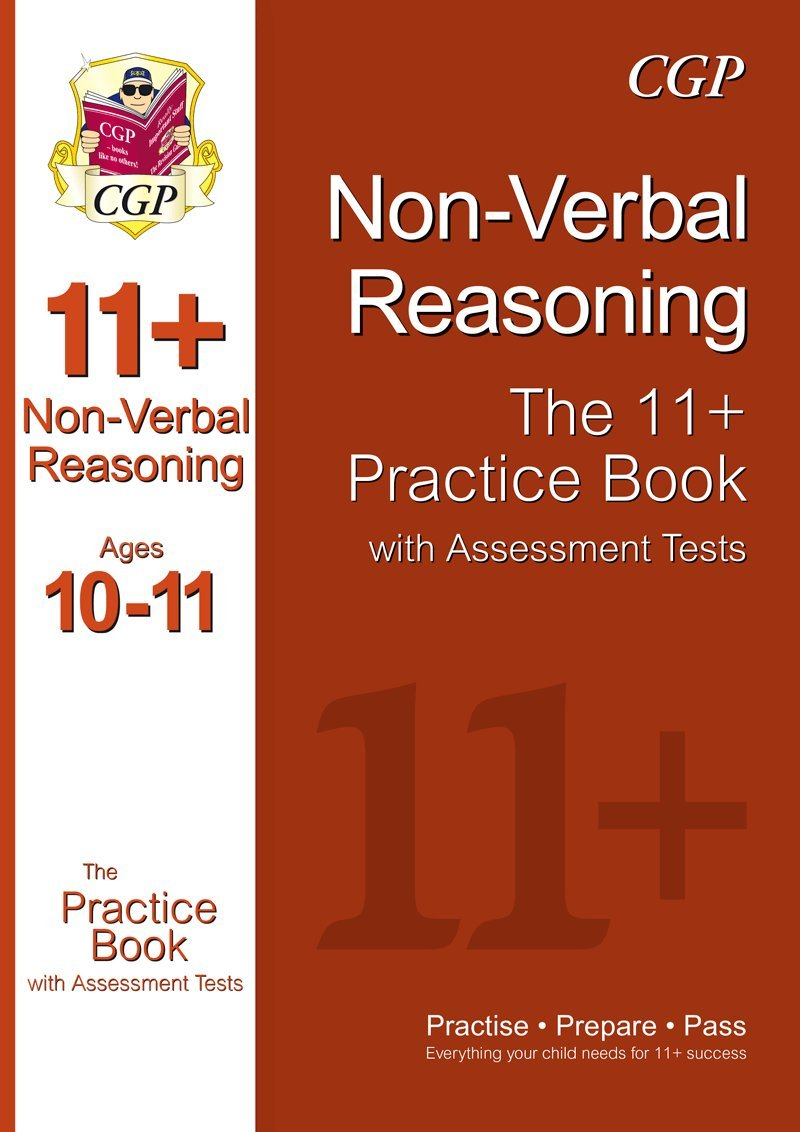 11 non verbal reasoning practice book with assessment tests ages 10 11 gl other test providers amazon co uk cgp books 9781847628350 books