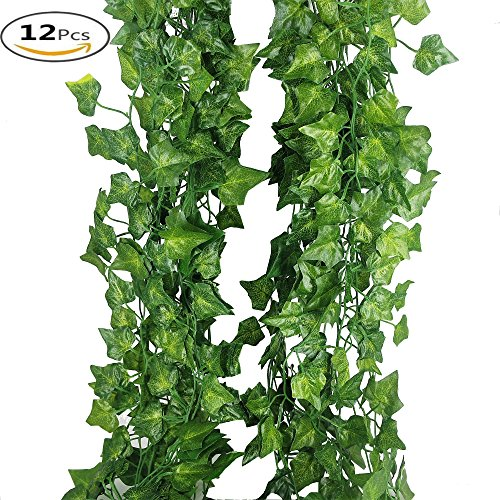 YHuaM Fake Vines 80 Leaves Plant Vines Decorative Vines