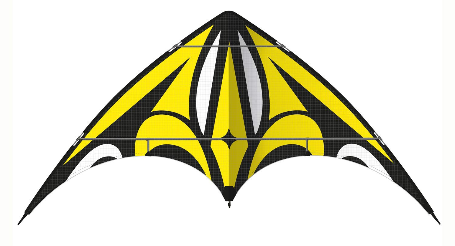Guenther 1086 160 x 80 cm nero loop stunt Kite Barrel Guenther - 1086