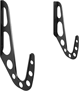 product image for Koova Surfboard Rack - Premium Powder Coated Steel Surfboard Wall Rack with Included Hardware and Protective Guards to Prevent Scuffing, Longboard or Surfboard Hanger for Surf Storage