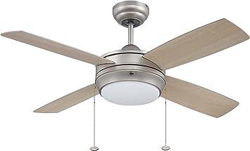 Wonderful Ellington LAV52MWW4LK, Laval Matte White 52 Inch Ceiling Fan With Light      Amazon.com
