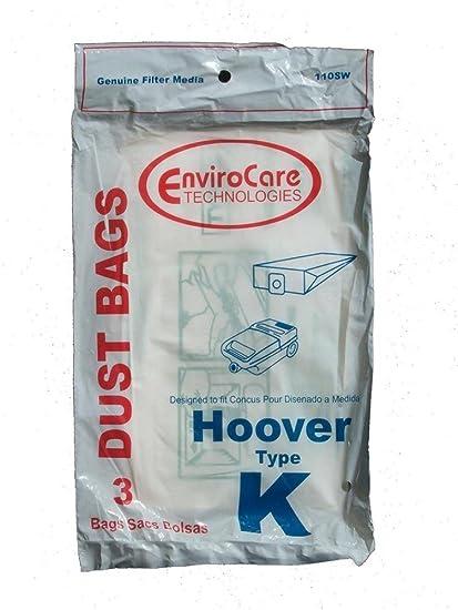 Bolsas de 6 bolsas para aspiradoras Hoover Spirit Canister ...