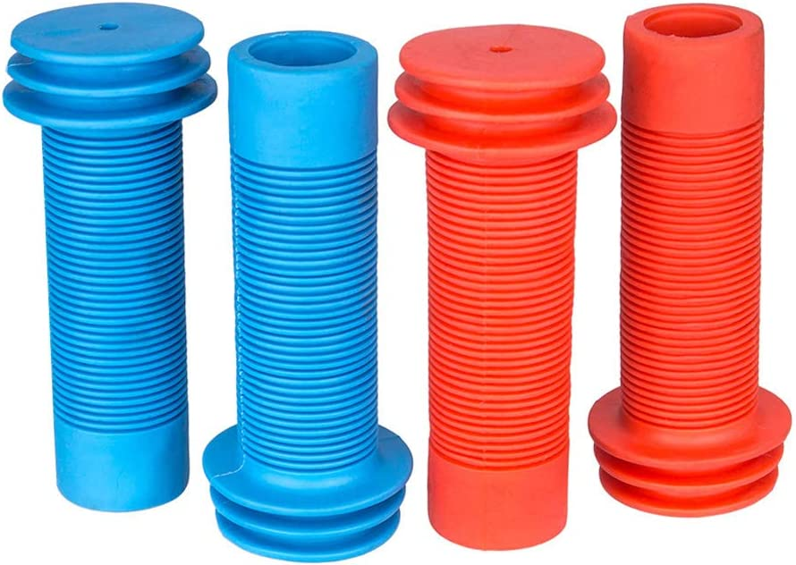 poign/ée souple verrouillage universel Szkn 1 paire de housse de v/élo en silicone antid/érapant protection enfant