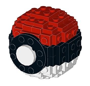 Amazon Constructibles Small Lego Pokeball Lego Parts