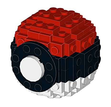 Amazon Constructibles Small Lego Pokeball Lego Parts