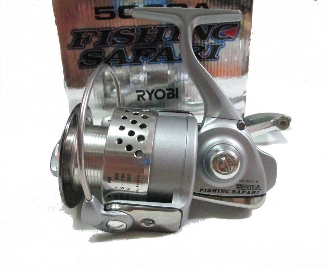 Amazon.com: Ryobi metaroyal Safari 5000 a carrete de pesca ...
