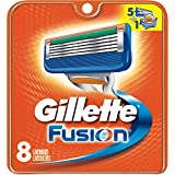 8 Gillette Fusion Razor Blades NEW CARTRIDGE PACK 100% AUTHENTIC,GENUINE PRO NIB